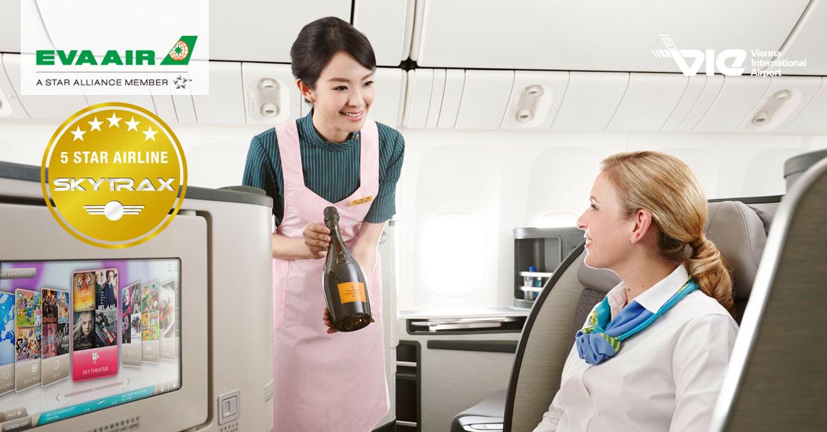 Cestovatelia označili vybavenie obchodnej triedy EVA Air za najlepšie, kabíny za najčistejšie