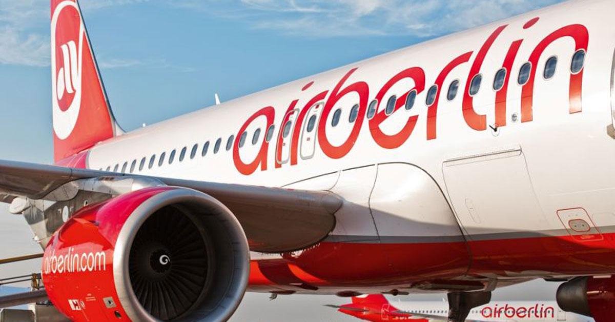 Letecká spoločnosť Airberlin pokračuje v letovej prevádzke