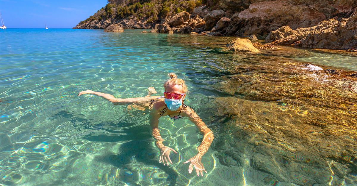Letná dovolenka pri mori a koronavírus